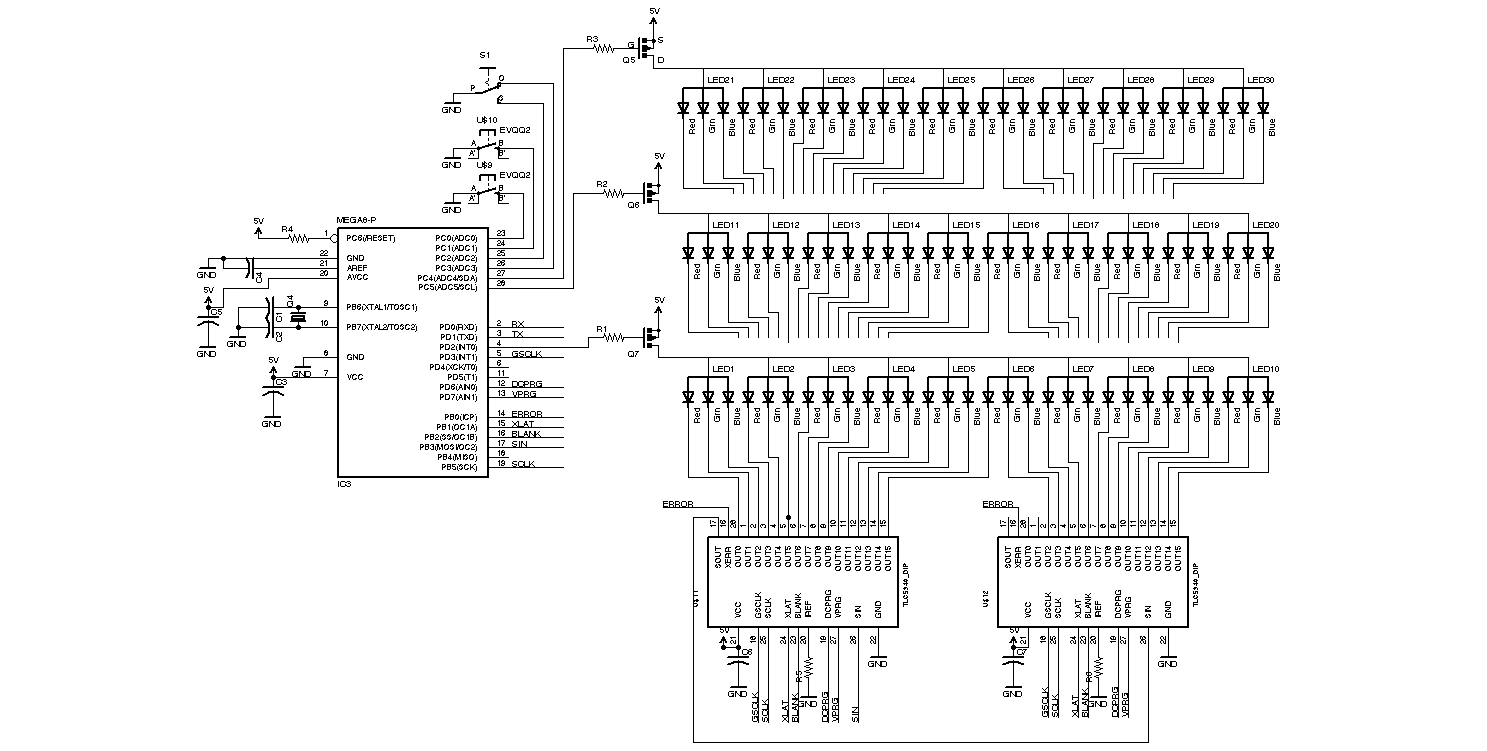 30 rgb leds infity mirror help reading diagram for the vcc inputs on the tlc5940s what do does symbols mean there are c6 and c7 numbers there buycottarizona Gallery